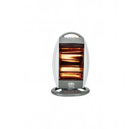 POLAR Lava DELUXE-LD02 Halogen Room Heater Grey
