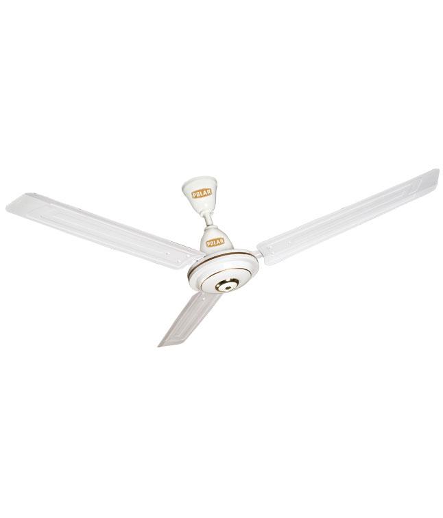 POLAR (1200MM ) Megamite Electric Ceiling Fan (White) - Fan
