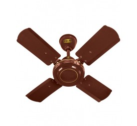 POLAR (600MM) Super Speed Ceiling Fan 4 BLD Brown