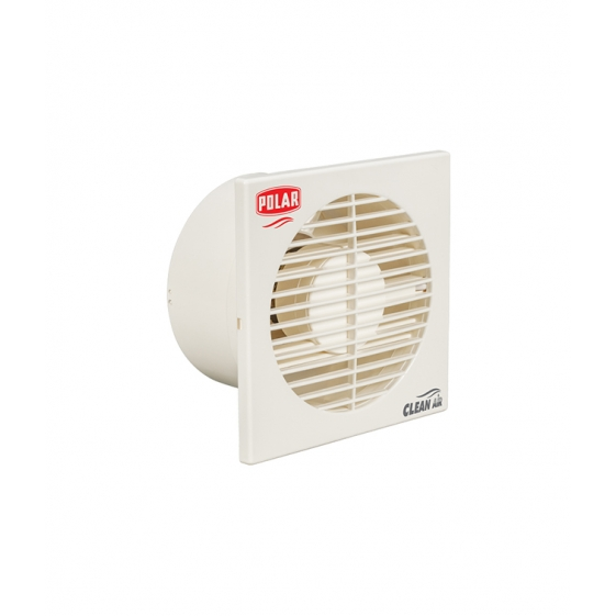 POLAR (150MM) AXIAL FLOW Clean Air Passion Exhaust Fan White