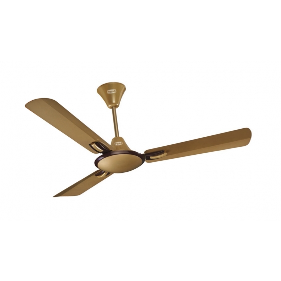 "POLAR (1200mm) CORVETTE 48 Electric Ceiling Fan  ""Brikin Effect Gold Brown"""