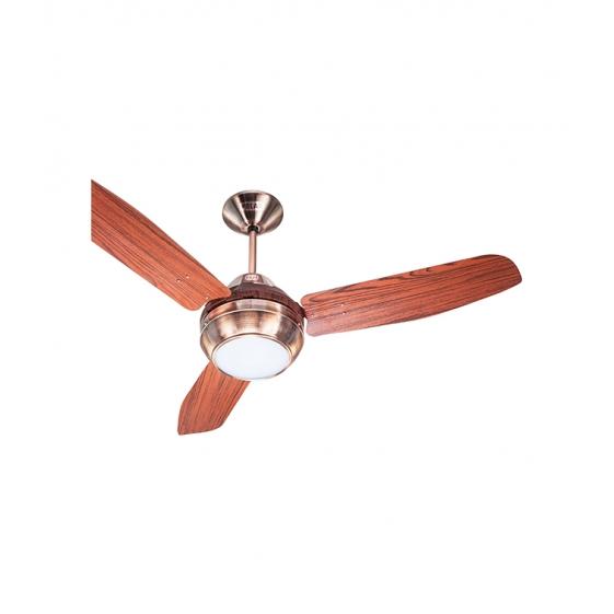 POLAR DORRANCE 1200MM 3 Blade Ceiling Fan- Antique Copper - Rosewood