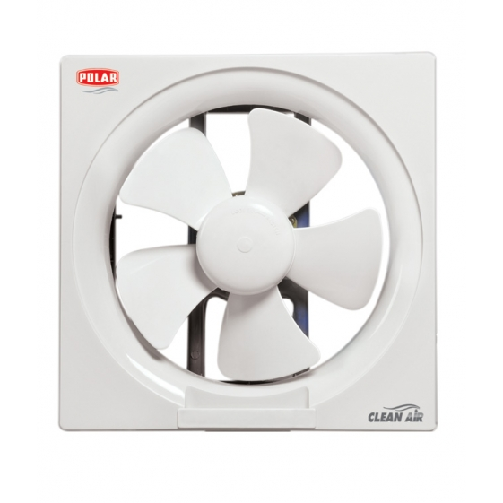 "POLAR (150MM) Clean Air Passion Exhaust Fan Normal Speed ""White"""