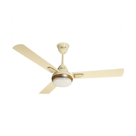 "POLAR (1200mm) Vindura 3 Blade Ceiling Fan ""Ivory-Golden"""